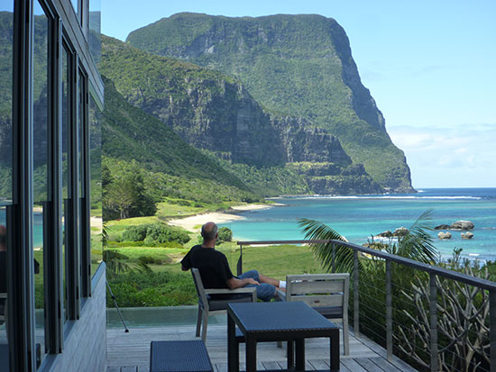 Scenery at Lord Howe Island